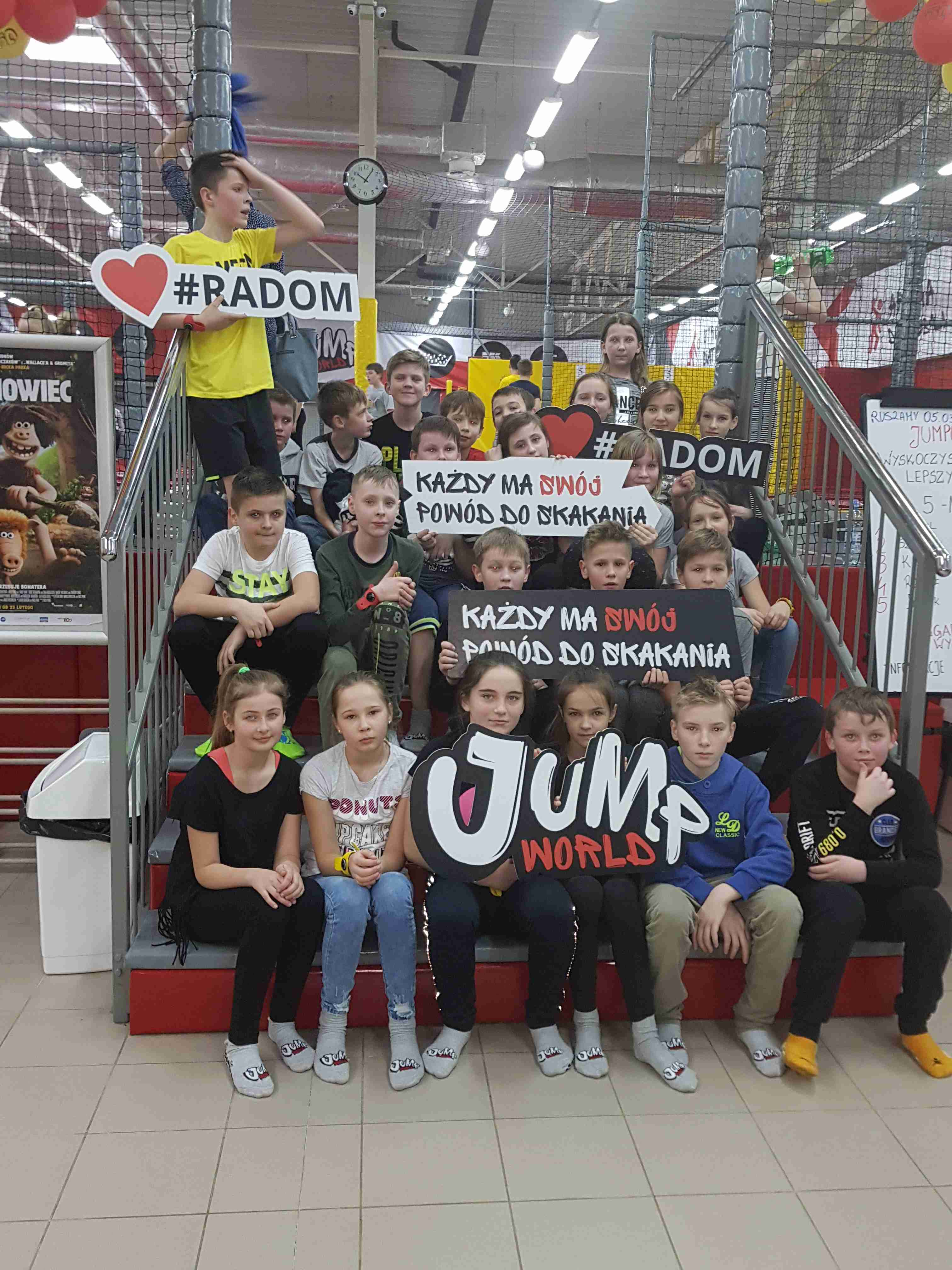 Wyjazd do parku trampolin JumpWorld
